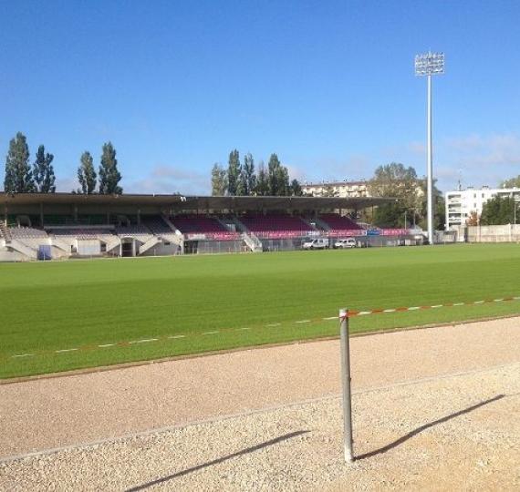Chauffage de stade de Bourg en Bresse : 1 an déjà