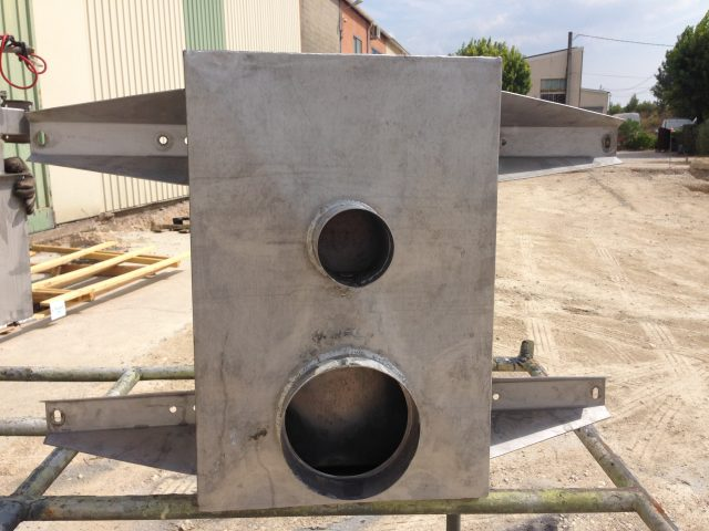 Boîte lavage Inox pour BIG Giordano Image