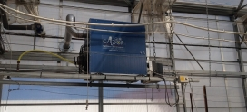 Fourniture et installation de générateurs d'air chaud hélicoïde dans un centre de recherches